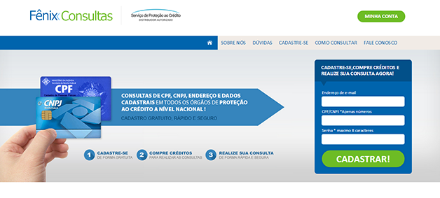 Consulta de CPF no SPC grátis pelo celular   Guajenet - YouTube